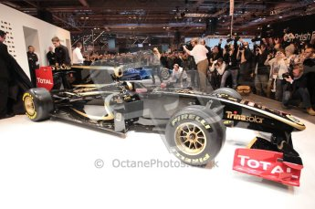 Autosport International 2011. Renault 2011 livery launch. Digital ref : 0046CB1D5965