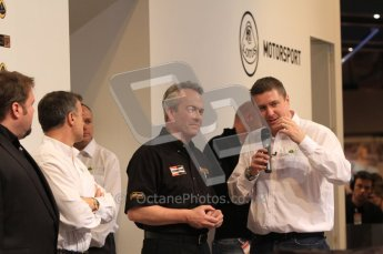 Autosport International 2011. Renault 2011 livery launch. Clive Chapman. Digital ref : 0046LW7D2469