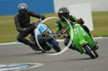 © Octane Photographic Ltd. Superstars meeting, Donington Park, Sunday 19th June 2011. All Heat/Replay British Scooter Championship. Digital Ref : 0080CB1D5160