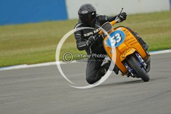 © Octane Photographic Ltd. Superstars meeting, Donington Park, Sunday 19th June 2011. All Heat/Replay British Scooter Championship. Digital Ref : 0080CB1D5247