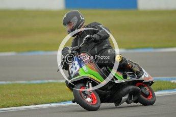 © Octane Photographic Ltd. Superstars meeting, Donington Park, Sunday 19th June 2011. All Heat/Replay British Scooter Championship. Digital Ref : 0080CB1D5258