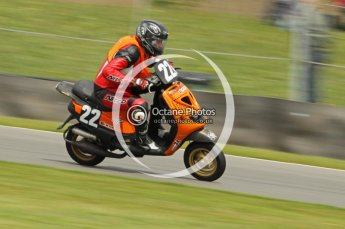 © Octane Photographic Ltd. Superstars meeting, Donington Park, Sunday 19th June 2011. All Heat/Replay British Scooter Championship. Digital Ref : 0080cb1d5840