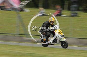 © Octane Photographic Ltd. Superstars meeting, Donington Park, Sunday 19th June 2011. All Heat/Replay British Scooter Championship. Digital Ref : 0080cb1d5850