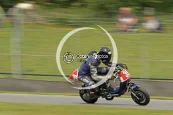 © Octane Photographic Ltd. Superstars meeting, Donington Park, Sunday 19th June 2011. All Heat/Replay British Scooter Championship. Digital Ref : 0080cb1d5860