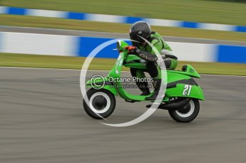 © Octane Photographic Ltd. Superstars meeting, Donington Park, Sunday 19th June 2011. All Heat/Replay British Scooter Championship. Digital Ref : 0080CB7D5087
