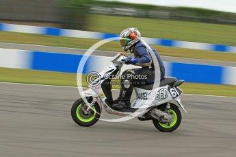 © Octane Photographic Ltd. Superstars meeting, Donington Park, Sunday 19th June 2011. All Heat/Replay British Scooter Championship. Digital Ref : 0080CB7D5141