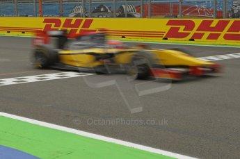 © Octane Photographic Ltd. 2011. European Formula1 GP, Friday 24th June 2011. GP2 Qualifying. Romain Grosjean - Dams. Digital Ref:  0084CB1D6923