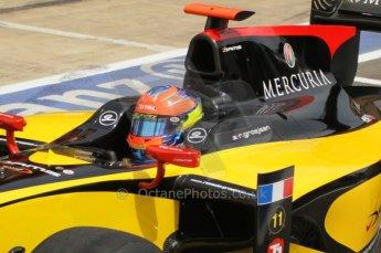 © Octane Photographic Ltd. 2011. European Formula1 GP, Friday 24th June 2011. GP2 Qualifying. Romain Grosjean - Dams. Digital Ref:  0084CB1D7155