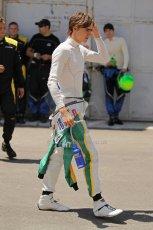 © Octane Photographic Ltd. 2011. European Formula1 GP, Saturday 25th June 2011. GP2 Race 1. Esteban Gutierez - Lotus ART. Digital Ref: 0085CB1D7753