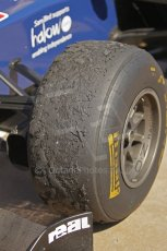 © Octane Photographic Ltd. 2011. European Formula1 GP, Saturday 25th June 2011. GP2 Race 1. The new Pirelli soft compound did its job admirably. Digital Ref:  0085CB1D8435