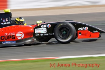 © Jones Photography 2011. World Series Renault – Silverstone, Sunday 21st August 2011. Formula Renault 3.5. Daniel De Jong - Comtec Racing. Digital Reference 0154DSC04640