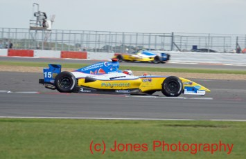 © Jones Photography 2011. World Series Renault – Silverstone, Sunday 21st August 2011. Formula Renault 3.5. Stephane Richelmi and Andre Nagrao - International Draco Racing. Digital Reference 0154DSC05010