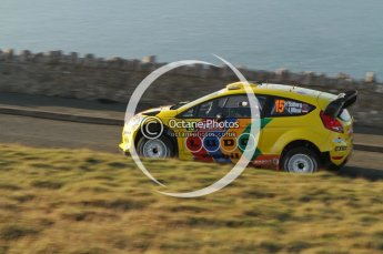 © North One Sport Ltd 2011 / Octane Photographic Ltd 2011. 10th November 2011 Wales Rally GB, WRC SS1 and SS2 Great Orme, Llandudno. Digital Ref : 0195lw7d2201