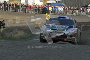 © North One Sport Ltd 2011 / Octane Photographic Ltd 2011. 12th November 2011 Wales Rally GB, WRC SS13 Sweet Lamb. Digital Ref : 0199lw7d9194