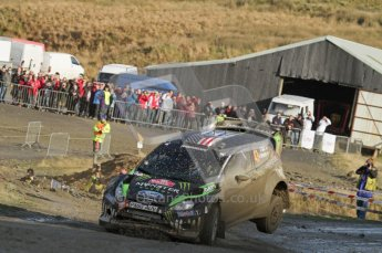 © North One Sport Ltd 2011 / Octane Photographic Ltd 2011. 12th November 2011 Wales Rally GB, WRC SS13 Sweet Lamb. Digital Ref : 0199lw7d9592