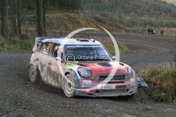 © North One Sport Ltd 2011 / Octane Photographic Ltd 2011. 12th November 2011 Wales Rally GB, WRC SS17 Myherin. Digital Ref : 0198cb1d9576