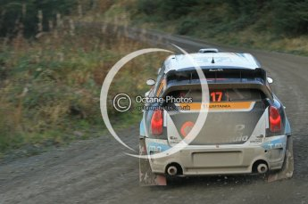 © North One Sport Ltd 2011 / Octane Photographic Ltd 2011. 12th November 2011 Wales Rally GB, WRC SS17 Myherin. Digital Ref : 0198cb1d9626
