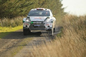 © North One Sport Ltd 2011 / Octane Photographic Ltd 2011. 13th November 2011 Wales Rally GB, WRC SS21 Halfway. Mads Ostberg and Jonas Andersson in their Ford Fiesta RS WRC, Digital Ref : 0200CB1D9700