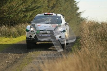 © North One Sport Ltd 2011 / Octane Photographic Ltd 2011. 13th November 2011 Wales Rally GB, WRC SS21 Halfway. Matthew Wilson and Scott Martin in their Ford Fiesta RS WRC. Digital Ref : 0200CB1D9723