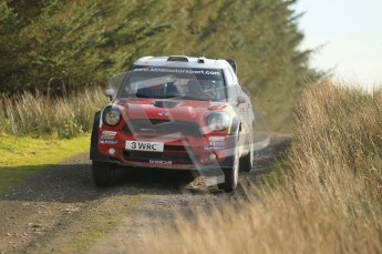 © North One Sport Ltd 2011 / Octane Photographic Ltd 2011. 13th November 2011 Wales Rally GB, WRC SS21 Halfway. Dani Sordo and Carlos Del Barrio in their Mini John Cooper Works. Digital Ref : 0200CB1D9768
