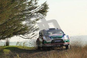 © North One Sport Ltd 2011 / Octane Photographic Ltd 2011. 13th November 2011 Wales Rally GB, WRC SS21 Halfway. Jari-Matti Latvala and Miikka Antilla in their Ford Fiesta RS WRC, Digital Ref : 0200LW7D8647