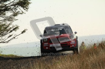 © North One Sport Ltd 2011 / Octane Photographic Ltd 2011. 13th November 2011 Wales Rally GB, WRC SS21 Halfway. Kris Meeke and Paul nagle in their Mini John Cooper Works. Digital Ref : 0200LW7D8696