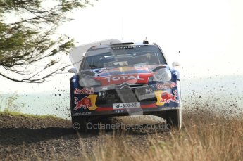 © North One Sport Ltd 2011 / Octane Photographic Ltd 2011. 13th November 2011 Wales Rally GB, WRC SS21 Halfway. Sebastien Ogier and Julien Ingrassia in their Citroen DS3 WRC. Digital Ref : 0200LW7D8759