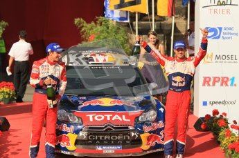 © North One Sport Ltd.2011/Octane Photographic Ltd. WRC Germany – Final Podium - Sunday 21st August 2011. Digital Ref : 0153CB1D6433