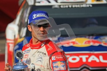 © North One Sport Ltd.2011/Octane Photographic Ltd. WRC Germany – Final Podium - Sunday 21st August 2011. Julien Ingrassia (Citroen). Digital Ref : 0153LW7D0019