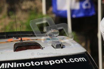 © North One Sport Ltd.2011/Octane Photographic Ltd. WRC Germany – Final Podium - Sunday 21st August 2011. Mini John Cooper works with 3rd place trophy. Digital Ref : 0153LW7D0052
