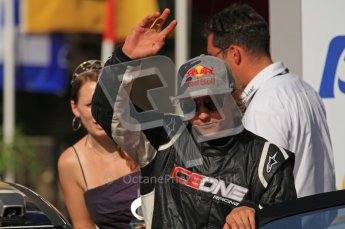 © North One Sport Ltd.2011/Octane Photographic Ltd. WRC Germany – Final Podium - Sunday 21st August 2011. Kimi Raikkonen - Citroen DS3 WRC. Digital Ref : 0153LW7D0079
