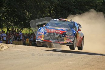 © North One Sport Ltd.2011/Octane Photographic Ltd. WRC Germany – SS11 - Hermeskeil_Gusenburg II - Saturday 20th August 2011, Sebastien Loeb/Daniel Elena, Citroen DS3 WRC. Digital Ref : 0151CB1D5828