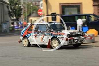 © North One Sport Ltd.2011/Octane Photographic Ltd. WRC Germany – SS19 - Circus Maximus - Sunday 21st August 2011, Lancia Delta. Digital Ref : 0152CB1D5983
