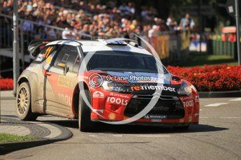 © North One Sport Ltd.2011/Octane Photographic Ltd. WRC Germany – SS19 - Circus Maximus - Sunday 21st August 2011. Digital Ref : 0152CB1D6199