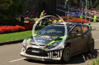 © North One Sport Ltd.2011/Octane Photographic Ltd. WRC Germany – SS19 - Circus Maximus - Sunday 21st August 2011. Digital Ref : 0152LW7D0162