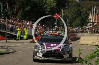 © North One Sport Ltd.2011/Octane Photographic Ltd. WRC Germany – SS19 - Circus Maximus - Sunday 21st August 2011. Digital Ref : 0152LW7D0254