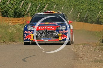 © North One Sport Ltd.2011/Octane Photographic Ltd. WRC Germany – SS6 - Moselland II - Friday 19th August 2011, Sebastien Loeb/Daniel Elena, Citroen DS3 WRC. Digital Ref : 0149CB1D5015