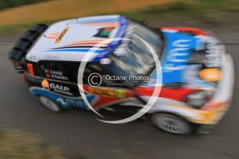 © North One Sport Ltd.2011/Octane Photographic Ltd. WRC Germany – SS6 - Moselland II - Friday 19th August 2011. Digital Ref : 0149LW7D0345