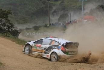 © Grize Motorsport 2011. WRC Portugal. Mads digging in. Digital Ref : 0048cam10652
