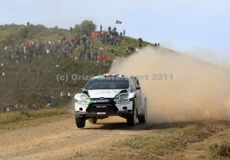 © Grize Motorsport 2011. WRC Portugal. Mat flies. Digital Ref : 0048cam11212