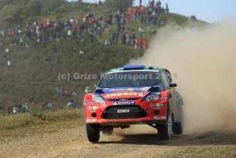 © Grize Motorsport 2011. WRC Portugal. Henning Solberg. Digital Ref : 0048cam11221