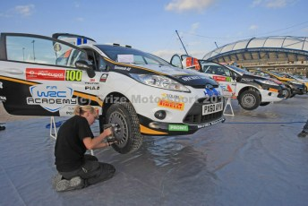 © Grize Motorsport 2011. WRC Portugal. Care and attention to the job. Digital Ref : 0048cam18536