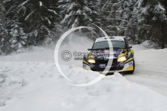 © North One Sport Limited 2011/Octane Photographic Ltd. 2011 WRC Sweden shakedown stage, Thursday 10th February 2011. Digital ref : 0126LW7D8182