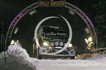 © North One Sport Ltd.2011/ Octane Photographic Ltd.2011. WRC Sweden SS1 Karlstad Arena Super Special, Thursday 10th February 2011. Digital ref : 0139CB1D6748