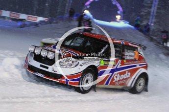 © North One Sport Ltd.2011/ Octane Photographic Ltd.2011. WRC Sweden SS1 Karlstad Arena Super Special, Thursday 10th February 2011. Digital ref : 0139LW7D8418