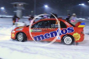 © North One Sport Ltd.2011/ Octane Photographic Ltd.2011. WRC Sweden SS1 Karlstad Arena Super Special, Thursday 10th February 2011. Digital ref : 0139LW7D8466