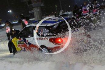 © North One Sport Ltd.2011/ Octane Photographic Ltd.2011. WRC Sweden SS1 Karlstad Arena Super Special, Thursday 10th February 2011. Digital ref : 0139LW7D8490
