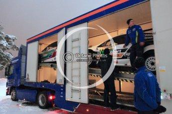 © North One Sport Ltd.2011/ Octane Photographic Ltd.2011. WRC Sweden SS1 Karlstad Arena Super Special, Thursday 10th February 2011. Digital ref : 0139CB5D8542