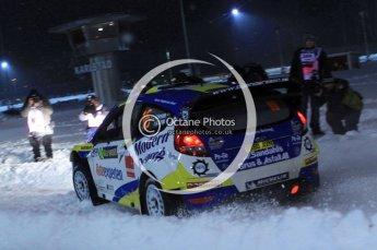 © North One Sport Ltd.2011/ Octane Photographic Ltd.2011. WRC Sweden SS1 Karlstad Arena Super Special, Thursday 10th February 2011. Digital ref : 0139LW7D8556
