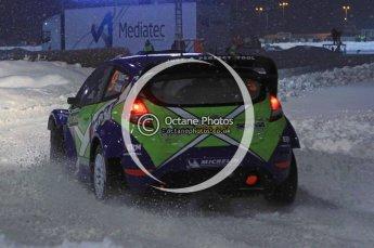 © North One Sport Ltd.2011/ Octane Photographic Ltd.2011. WRC Sweden SS1 Karlstad Arena Super Special, Thursday 10th February 2011. Digital ref : 0139LW7D8585